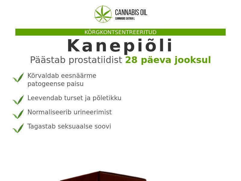 Cannabis Oil EE (prostatitis)