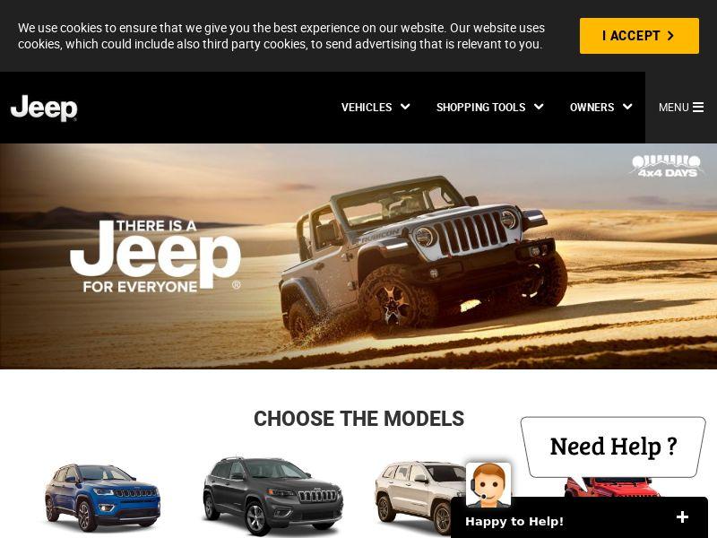 Jeep Test Drive UAE - CPL