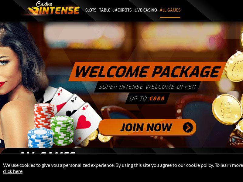 Casinointense.com Casino CPA - NL, UK, FI, NO, SE, AU, CA, AT, FR, IT, ES & DE