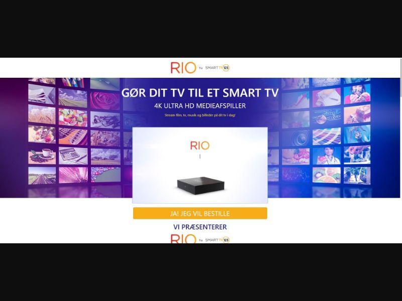 Rio - Smart TV 123 - Danish Video page - SS - [DK]