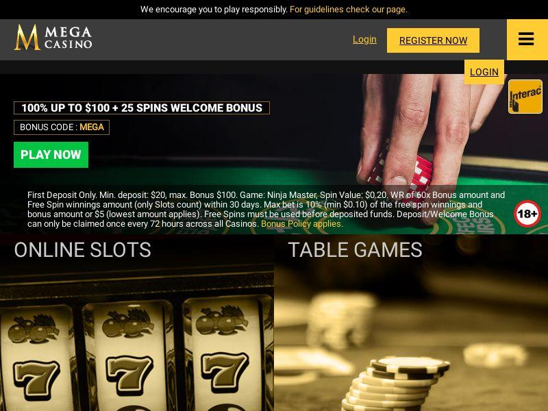 Mega Casino - Casino - CA - (CPA)