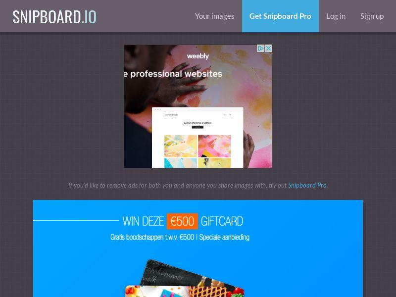LeadsWinner - Albert Heijn Supermarket Voucher NL - SOI *special payout*