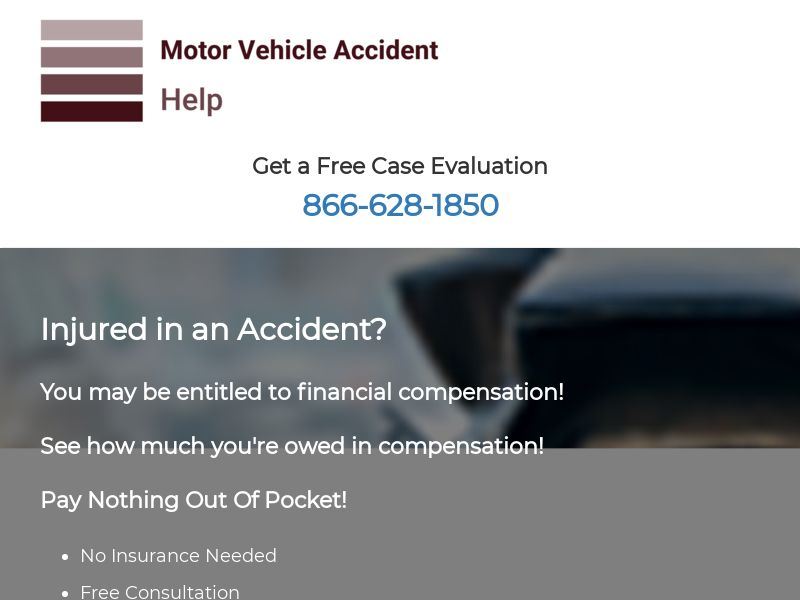 Motor Vehicle Accident Help - Legal - Auto (US)