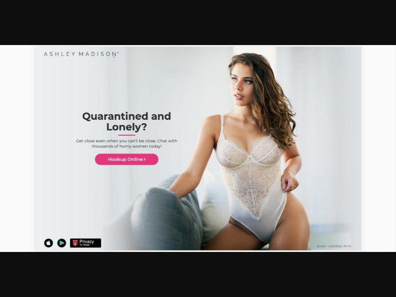 AshleyMadison Milf - CPL SOI - US - Sexy Dating - Responsive