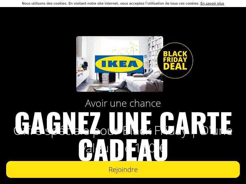 Gagnez carte cadeau Ikea - BE