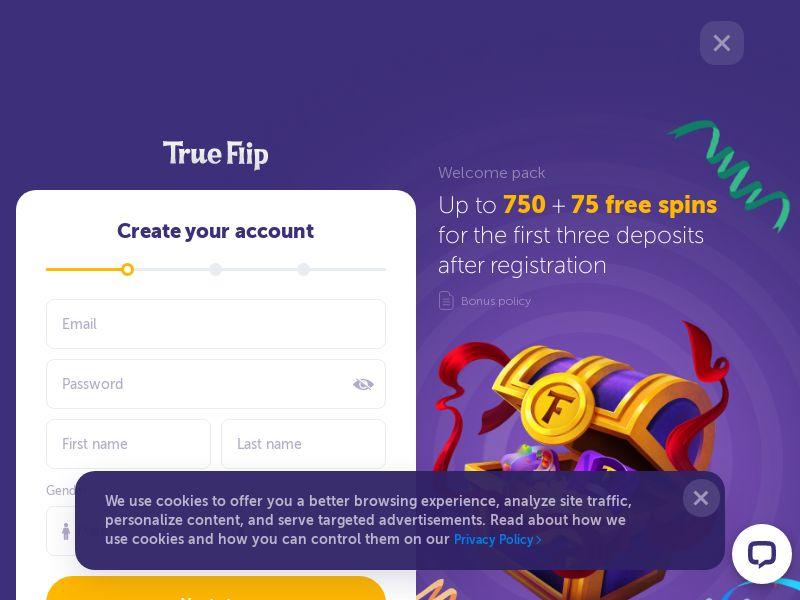 True flip | NL, SE | CPA - Main