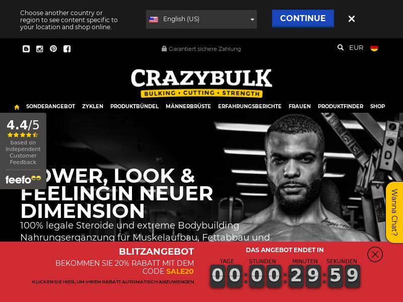 CrazyBulk.de CPS - Germany