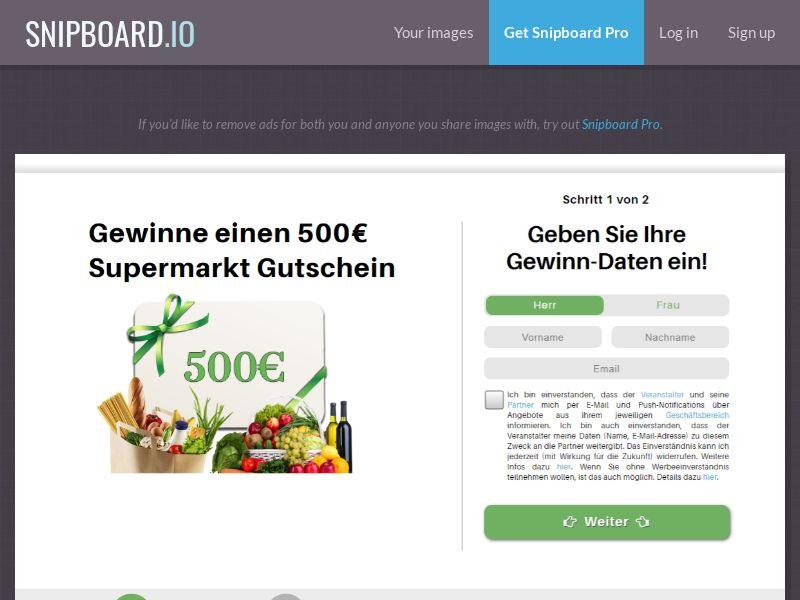37714 - DE - FrenzyLeads - Supermarkt 500€ - SOI