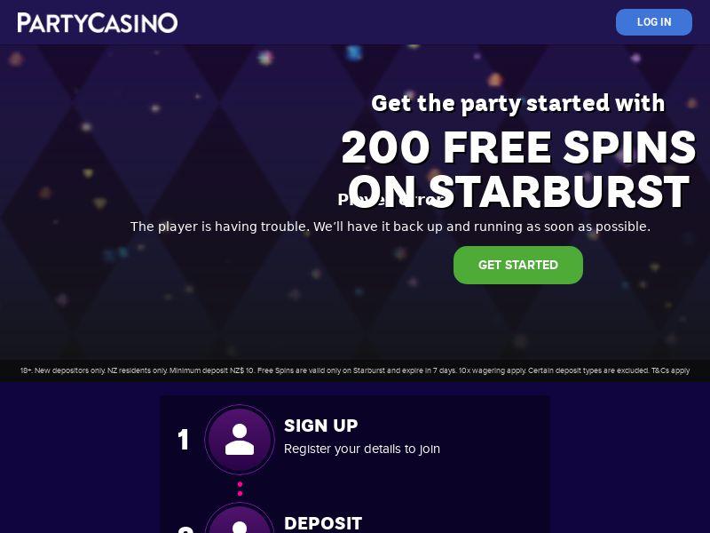 Party Casino - CA (CA), [CPA], Gambling, Casino, Deposit Payment, million, lotto