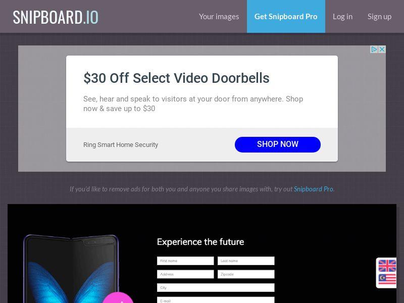 BigEntry - Samsung Fold SG - CC Submit (english/malay)
