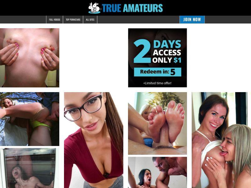 True Amateurs - Adult Entertainment - UK (CPA, CC Submit)