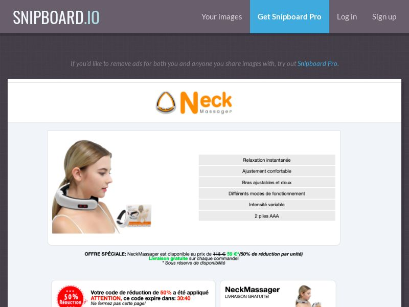 37975 - ALL - E-Commerce - NeckMassager - Order Page 1.0 The Classic - All Languages WW - CPS