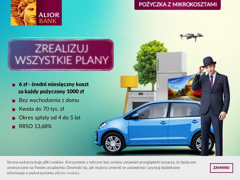 Alior Bank - Pożyczka z Mikrokosztami - PL (PL), [CPS]