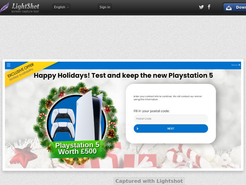 ForYourPromo - T&K Playstation 5 Christmas (UK) (CPL) (Personal Approval)