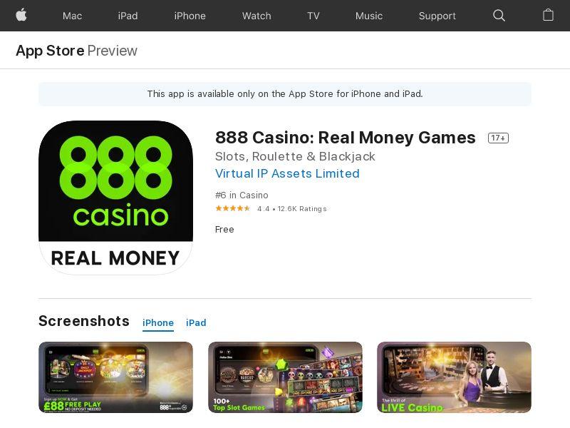 Casino IOS Sweden_FTD