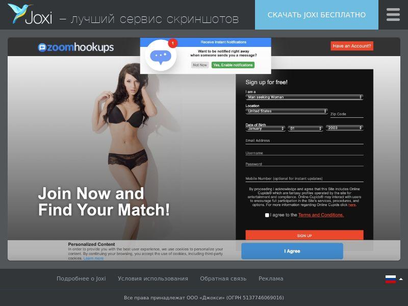 WEB/MOB ZoomHookups CPL SOI UTC-5 US/CA/AU