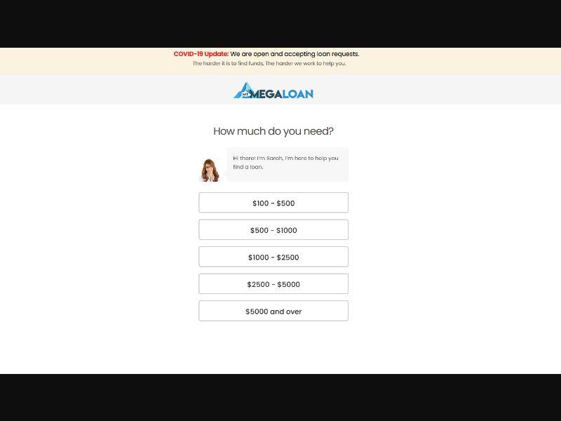 WEB WAP MegaLoan CPA / USA