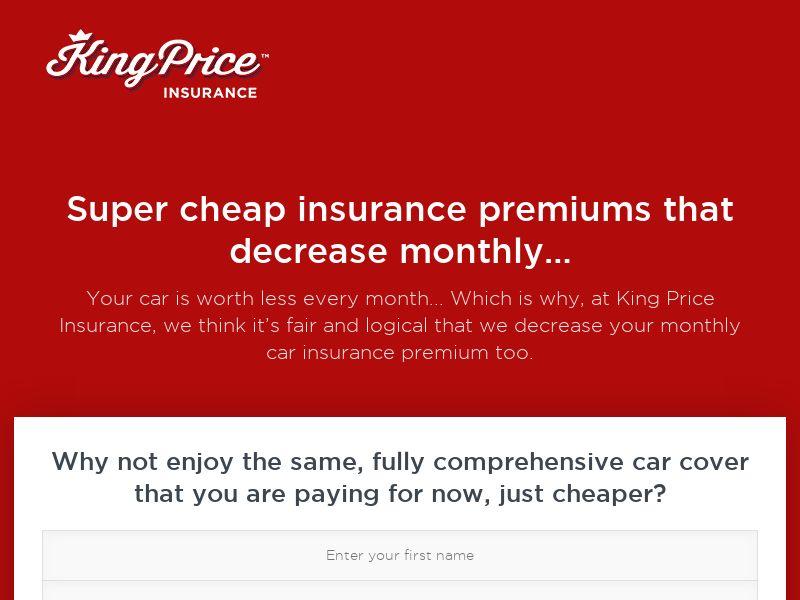 King Price Car Insurance (ZA) (CPL)