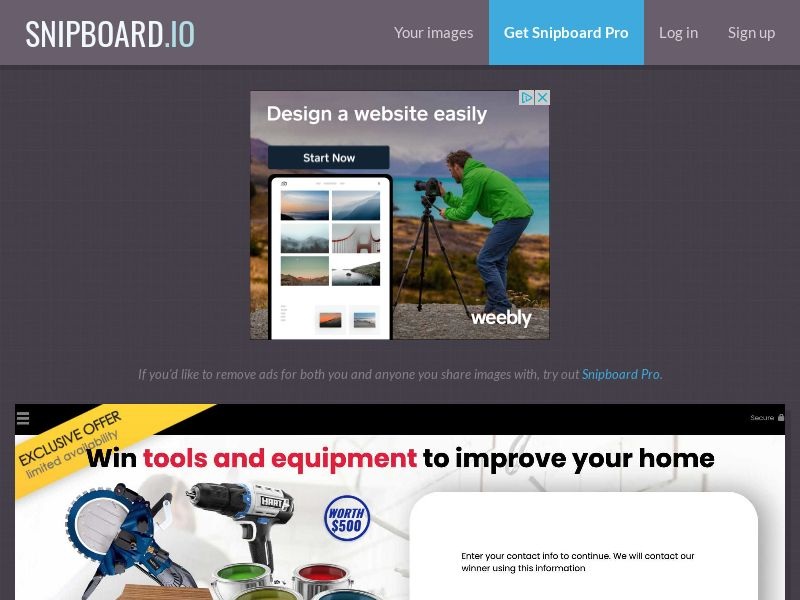 YouSweeps - Tools and Equipment US - SOI
