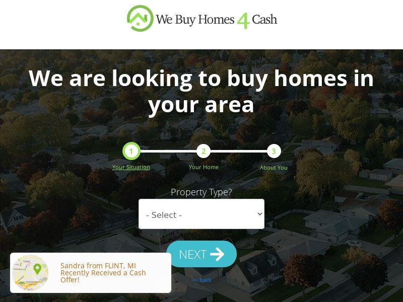 We Buy Homes 4 Cash - US [EXCLUSIVE]