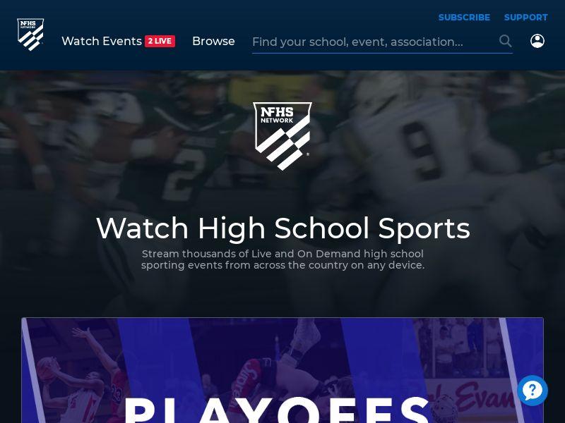 NHFS - Watch High School Sports via Streaming Online!   US