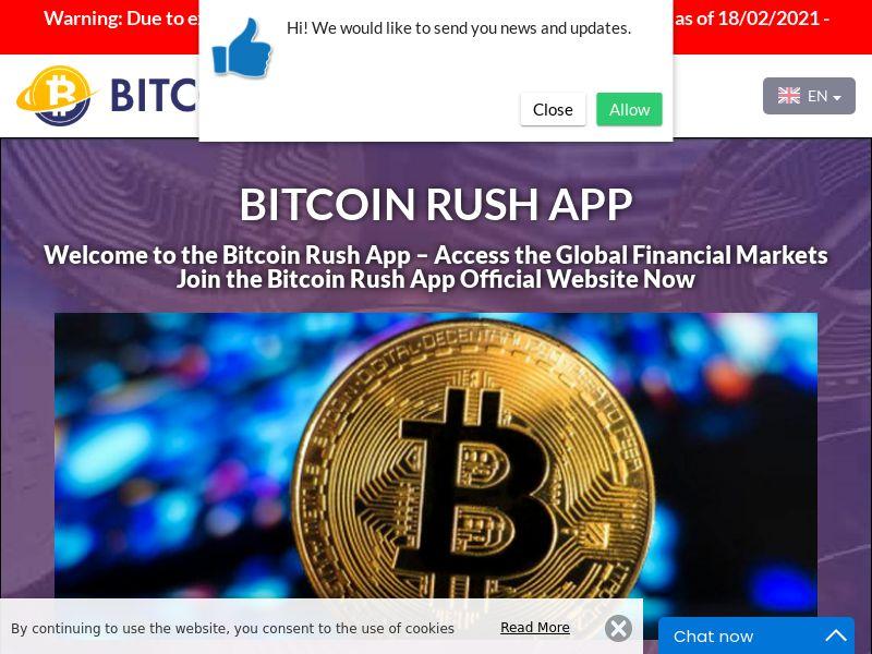 Bitcoin Rush App Swedish 2877
