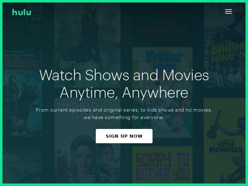 Hulu - US - CPA - Non Incent