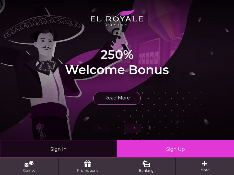 12538) [WEB+WAP] El Royale - CA,AU - CPA