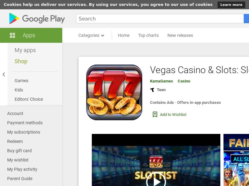 Vegas Casino & Slots - Android - INCENT - US