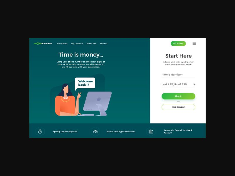 ZoomAdvances - 5k Personal Loan (CPA)