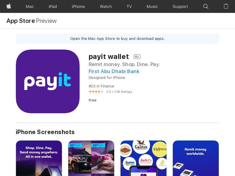 Payit UAE CPI IOS (non-incent) *KPI