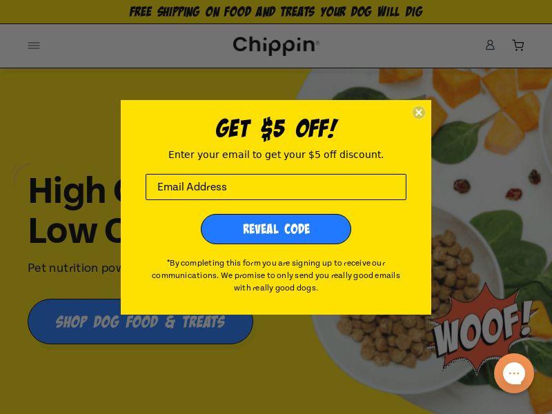 Chippin Pet - CC Submit | Multi Geo