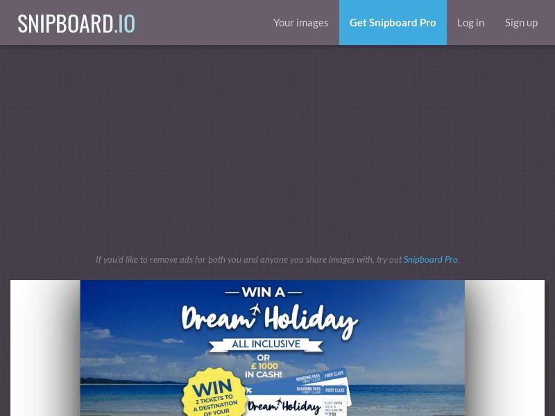 43045 - UK - MegaService - Dream Holiday 1000P - SOI