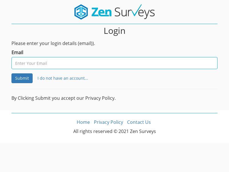 ZenSurveys - Normal - INCENT - INTL