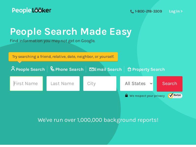 Background - PeopleLooker - Name Lookup (US) - PeopleLooker-People_Search