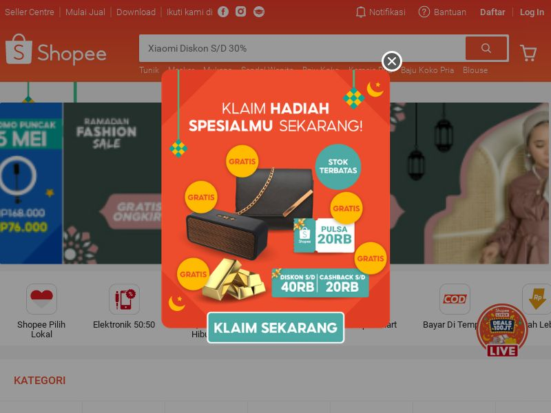 Shopee.co.id CPS - Indonesia