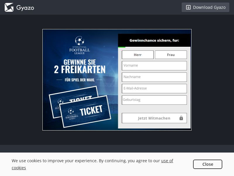 PrizeDraws Champions League (Reg Form) FR | SOI CPL