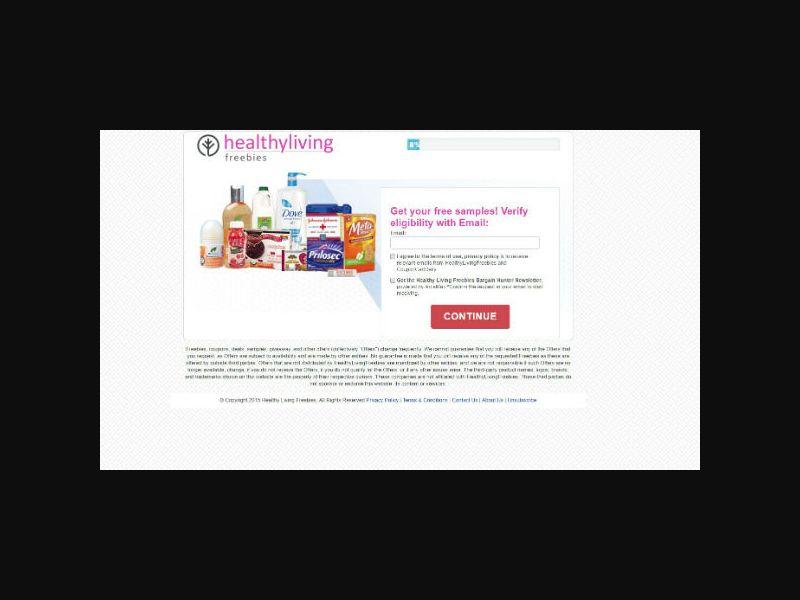 HealthyLivingFreebies.com
