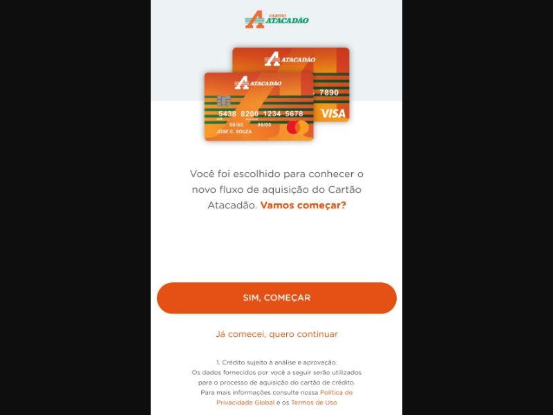 Cartoes Atacadao Exclusive [BR] - CPL