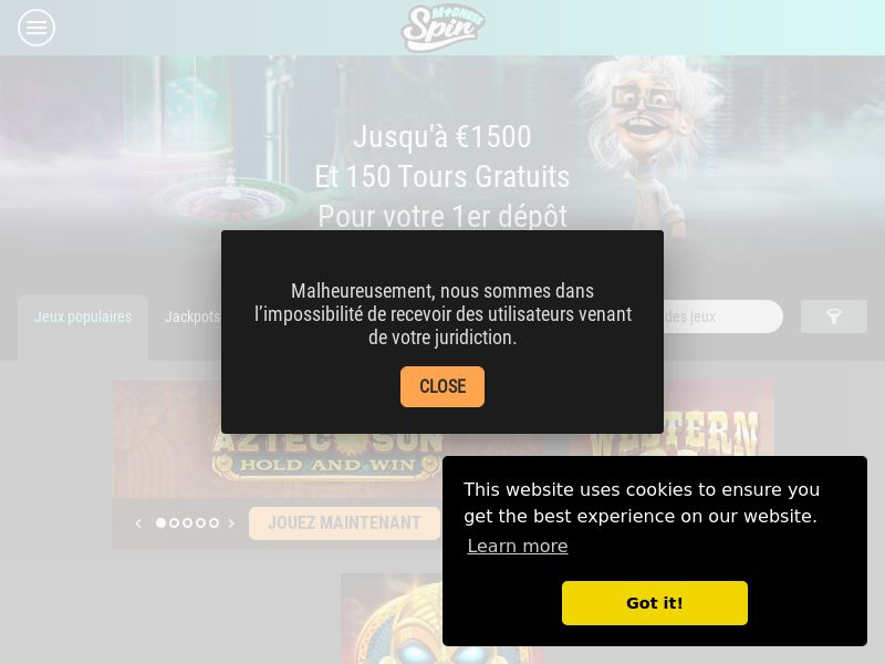 12362) [EMAIL] Spin Million - FR - CPL