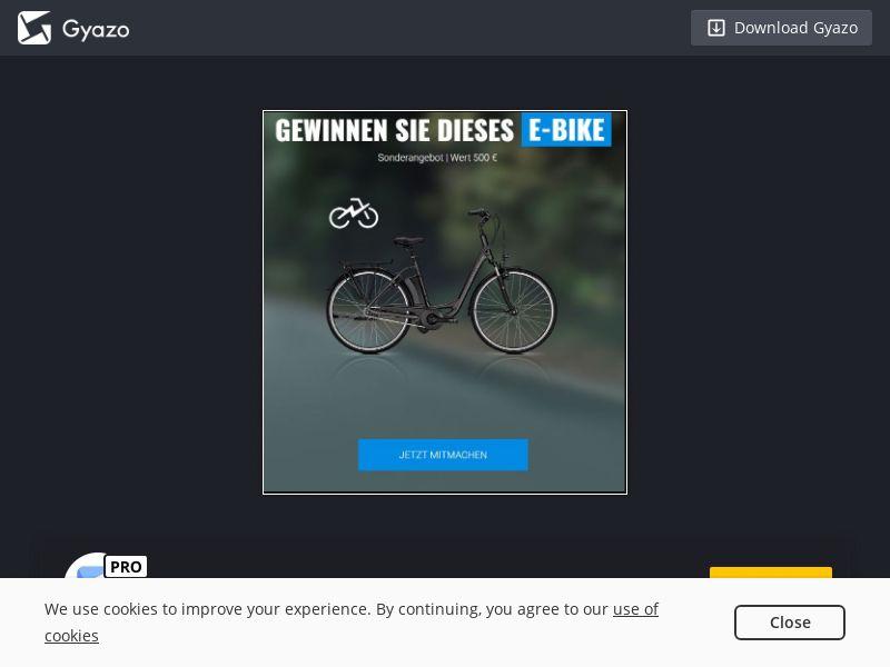 e-Bike Gift Card (DE) (CPL)