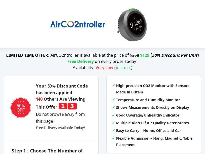 AirCO2ntroller