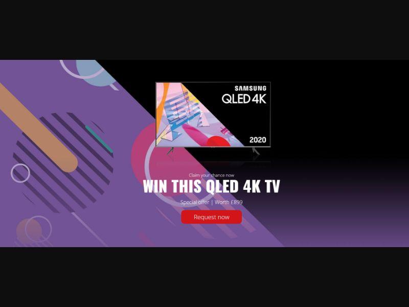 WEB WAP Samsung 4K TV Exclusive *FB PIXEL* SOI /UK