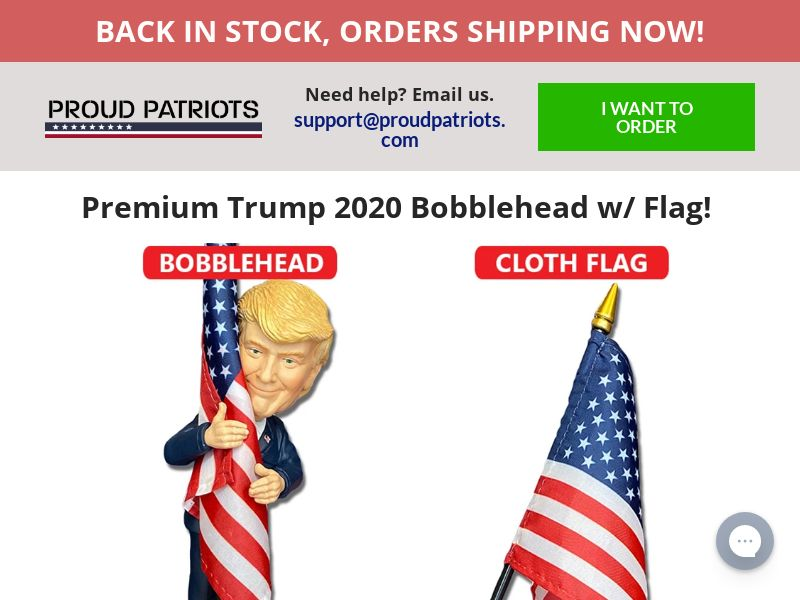 Trump Bobblehead (CPS) - US