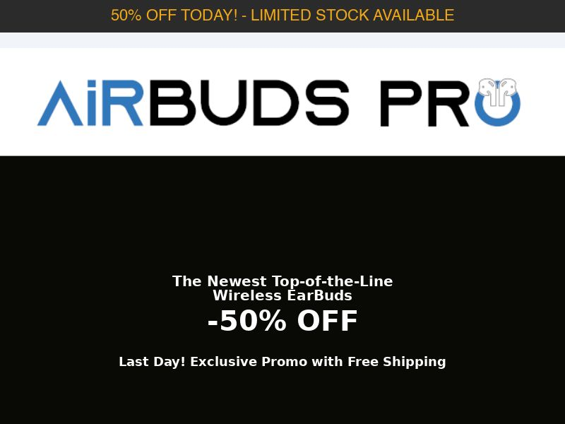 AirBuds Pro - Wireless Earphone - CPA - [INTERNATIONAL]