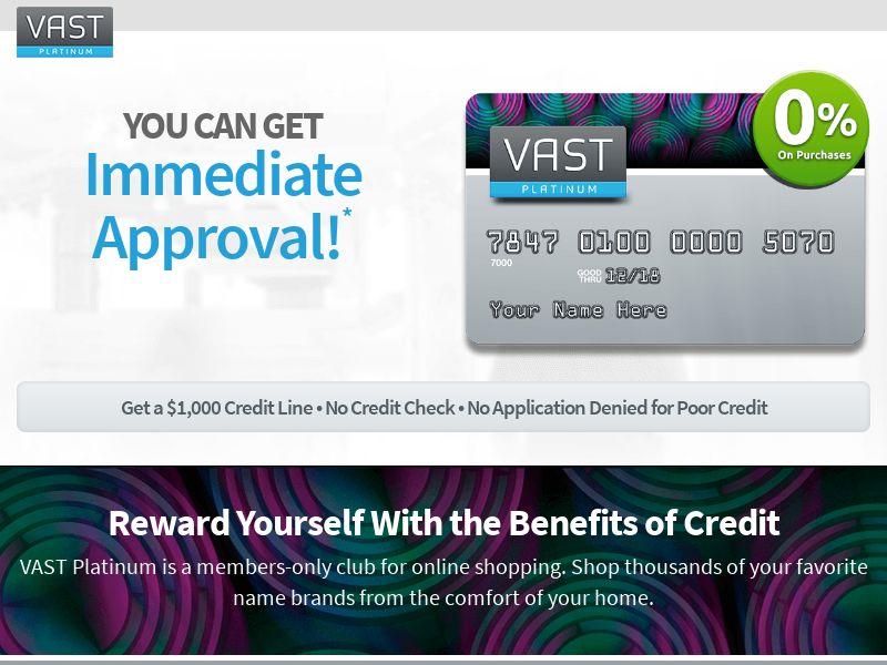 Vast Platinum Card - CPA   US