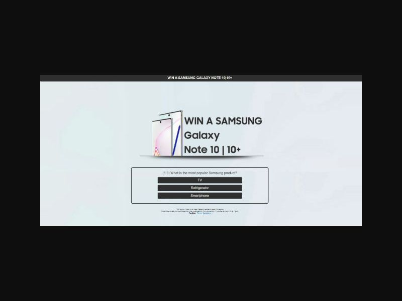 Win a Samsung Note 10 - NZ