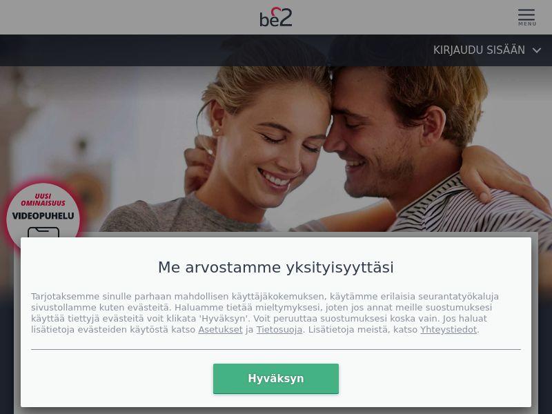 Dating - Be2 (FI) - DESKTOP