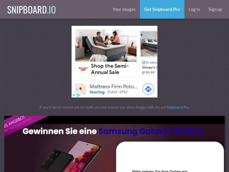 ConsumersConnect - Samsung Galaxy S21 Ultra LU - SOI