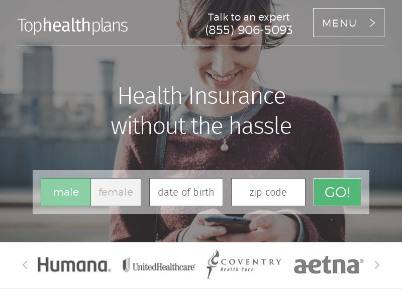 Tophealthplans.org General - Healthcare - Email Only
